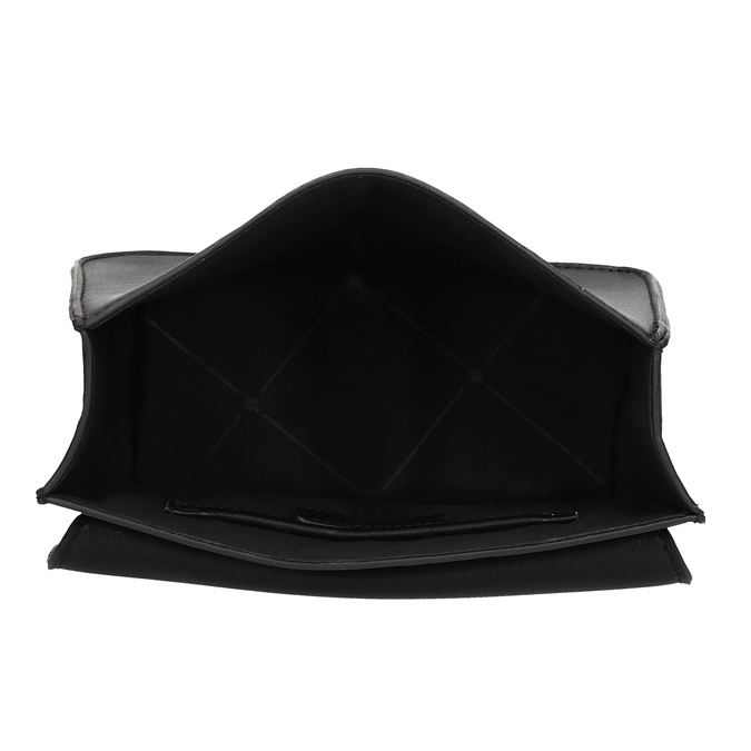 Čierna Crossbody kabelka s kovovými cvočkami bata, čierna, 961-6928 - 15