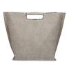 Dámska šedá kabelka s prešitím bata-red-label, šedá, 961-2958 - 16