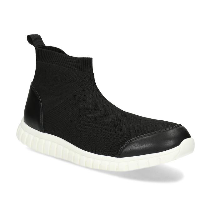 Členková dámska čierna obuv bata-red-label, čierna, 599-6627 - 13