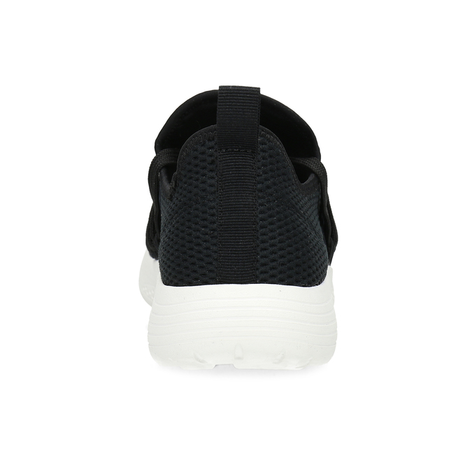 Dámske čierne tenisky s elastickým pruhom bata-red-label, čierna, 519-6607 - 15