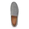 Šedé pánske ležérne mokasíny z brúsenej kože flexible, šedá, 853-2619 - 17