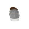 Šedé pánske ležérne mokasíny z brúsenej kože flexible, šedá, 853-2619 - 15