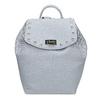 Modrý dámsky batoh s kovovými cvočkami bata, modrá, 961-9940 - 26