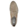 Pánske poltopánky z brúsenej kože bata, béžová, 823-2634 - 17