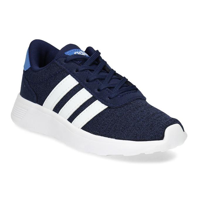 Úpletové modré tenisky chlapčenské adidas, modrá, 309-9209 - 13