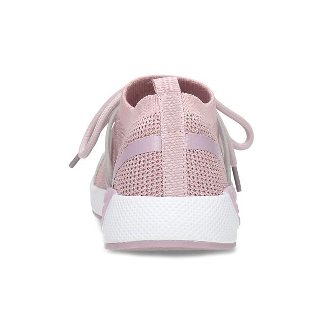 Ružové detské tenisky v pletenom dizajne mini-b, ružová, 329-5282 - 15