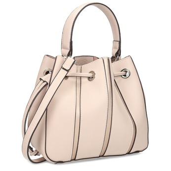 Ružová kabelka v štýle Bucket Bag bata, ružová, 961-5964 - 13