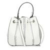 Dámska biela kabelka v štýle Bucket Bag bata, biela, 961-1964 - 16