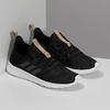 Čierne dámske tenisky s hnedým detailom adidas, čierna, 509-6469 - 26