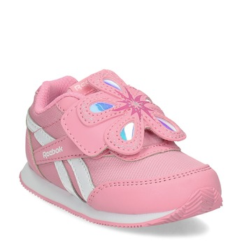 Detské dievčenské tenisky ružové reebok, ružová, 101-5128 - 13