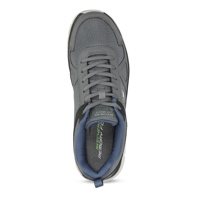 Sivé tenisky pánske skechers, šedá, 809-2234 - 17