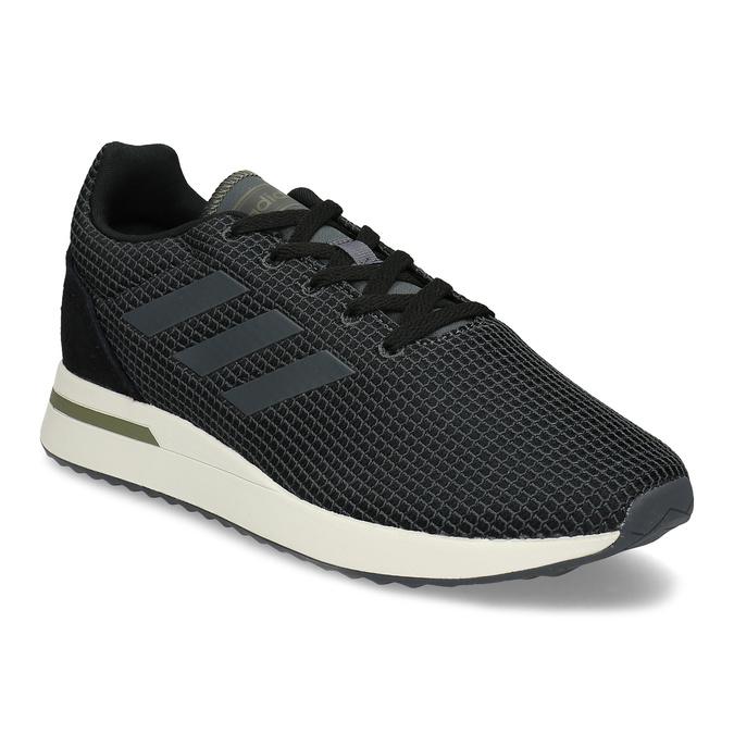 Pánske čierne tenisky všportovom štýle adidas, čierna, 809-6209 - 13