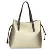 Zlatá dámska kabelka s perforáciou bata, zlatá, 961-8866 - 16
