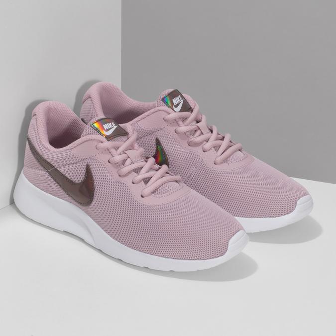 Ružové tenisky s holografickým logom nike, ružová, 509-5257 - 26