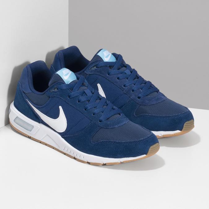 Modré pánske tenisky nike, modrá, 809-9326 - 26