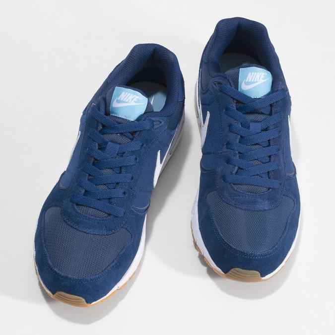 Modré pánske tenisky nike, modrá, 809-9326 - 16