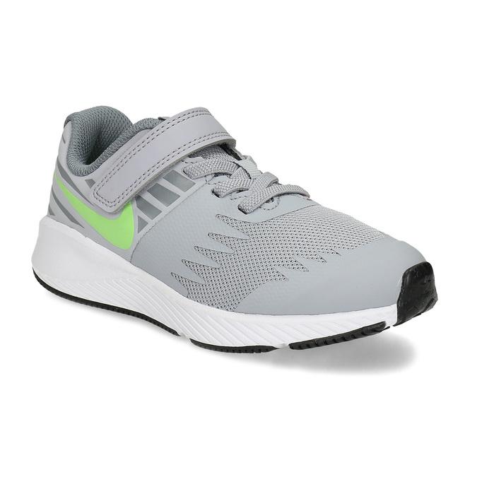 Dievčenské športové šedé tenisky nike, šedá, 309-2191 - 13