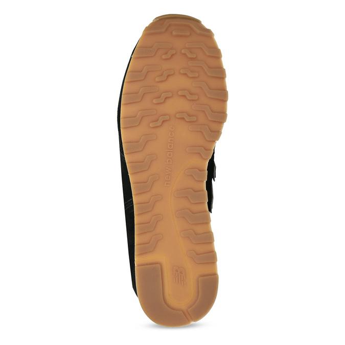 Čierne dámske kožené tenisky new-balance, čierna, 503-6114 - 18
