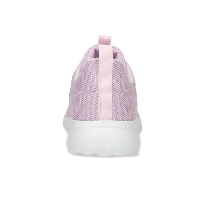 Ružové dámske tenisky s bielou podrážkou adidas, ružová, 509-5102 - 15