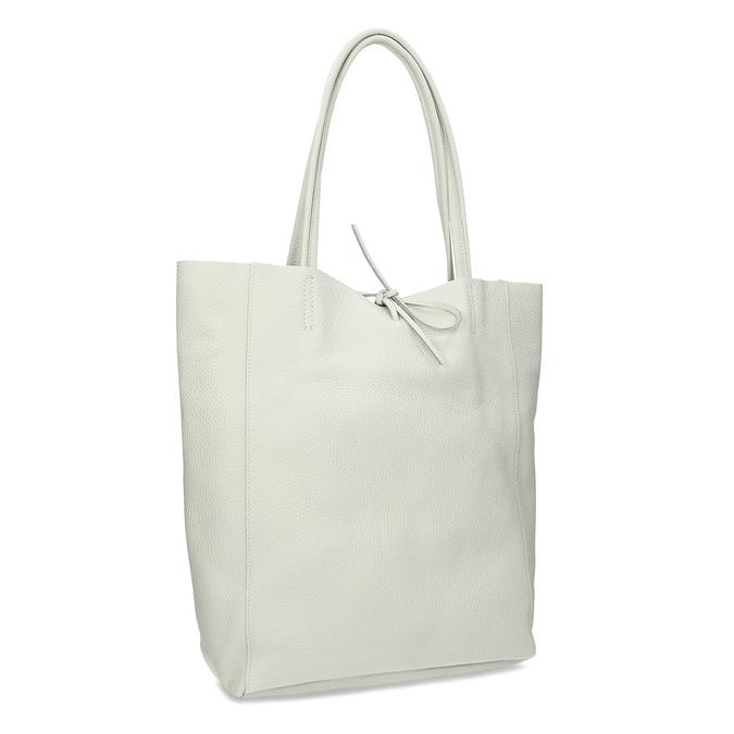 Béžová kožená kabelka bata, béžová, 964-1162 - 13