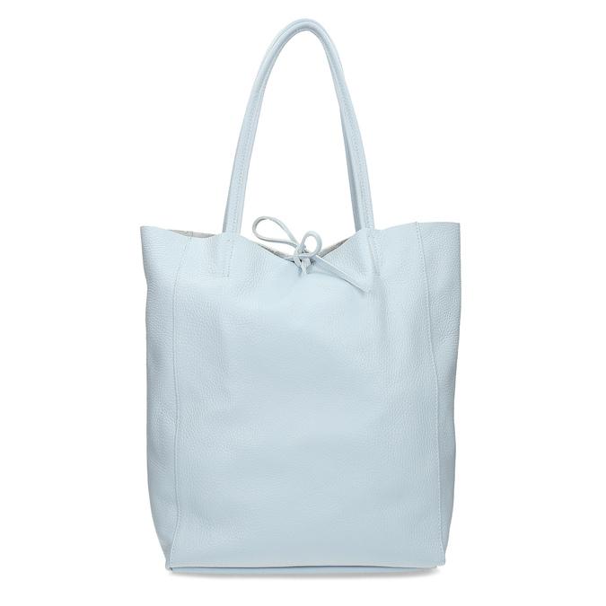 Svetlomodrá kožená kabelka bata, modrá, 964-9162 - 16