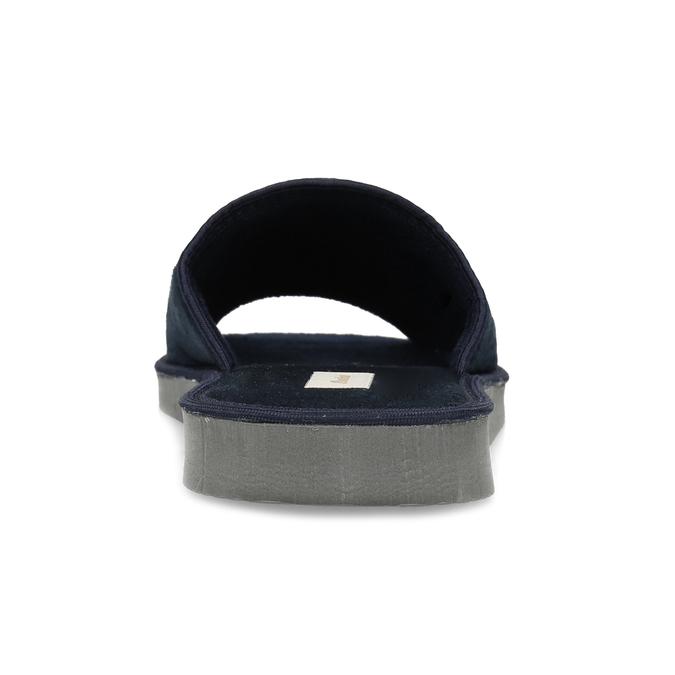Pánska domáca obuv bata, modrá, 879-9606 - 15