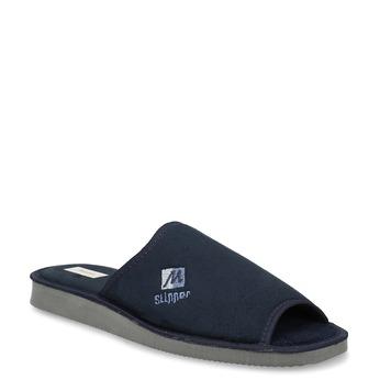 Pánska domáca obuv bata, modrá, 879-9606 - 13