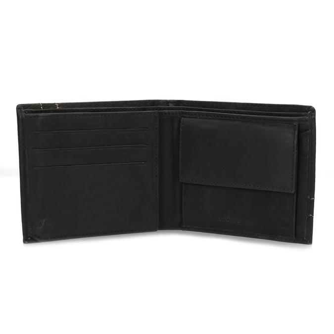Pánská kožená peňaženka bata, hnedá, 944-6147 - 15