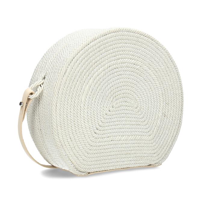 b89a812019 Bata Biela pletená Crossbody kabelka - Najpredávanejšie
