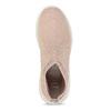 Dámske členkové tenisky ružové bata-light, ružová, 599-5628 - 17