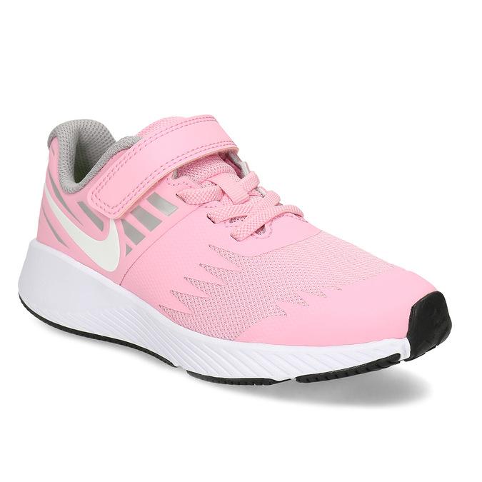 Dievčenské svetloružové tenisky nike, ružová, 309-5211 - 13