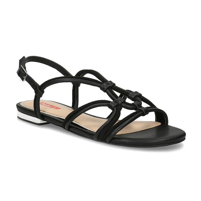 3a9d90b56a56 Bata Red Label Dámske sandále čierne - Bez podpätku