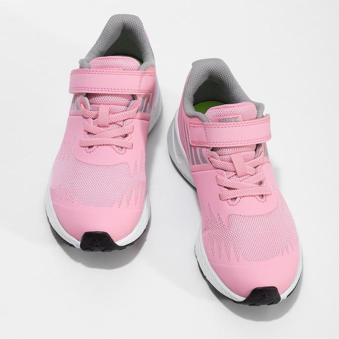 Dievčenské svetloružové tenisky nike, ružová, 309-5211 - 16