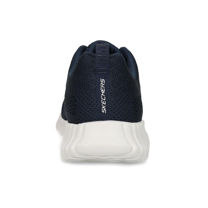 Modré pánske tenisky v športovom štýle skechers, modrá, 809-9219 - 15