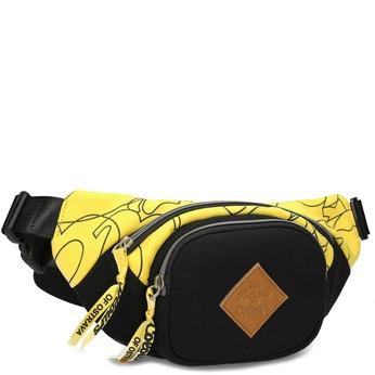 Žltá unisex ľadvinka so vzorom bata-colours-of-ostrava, žltá, 969-8706 - 13
