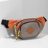 Šedá ľadvinka s oranžovým detailom bata-colours-of-ostrava, oranžová, 969-2706 - 17