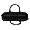 Čierna kabelka na notebook s prešívaním bata-red-label, čierna, 961-6950 - 15
