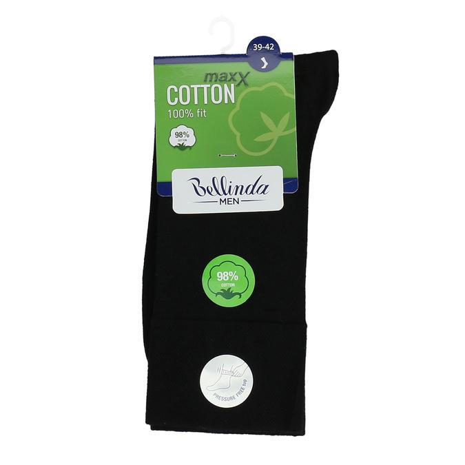 Čierne pánske bavlnené ponožky bellinda, čierna, 919-6714 - 13