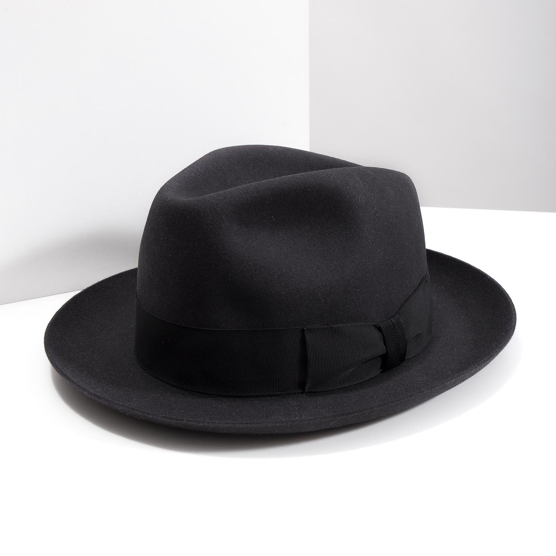 56658f529 ... Čierny pánsky klobúk tonak, šedá, 909-2646 - 18 ...
