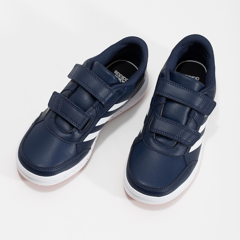 Adidas Modré detské tenisky na suchý zips - Všetky chlapčenské ... 5bb11e9d602