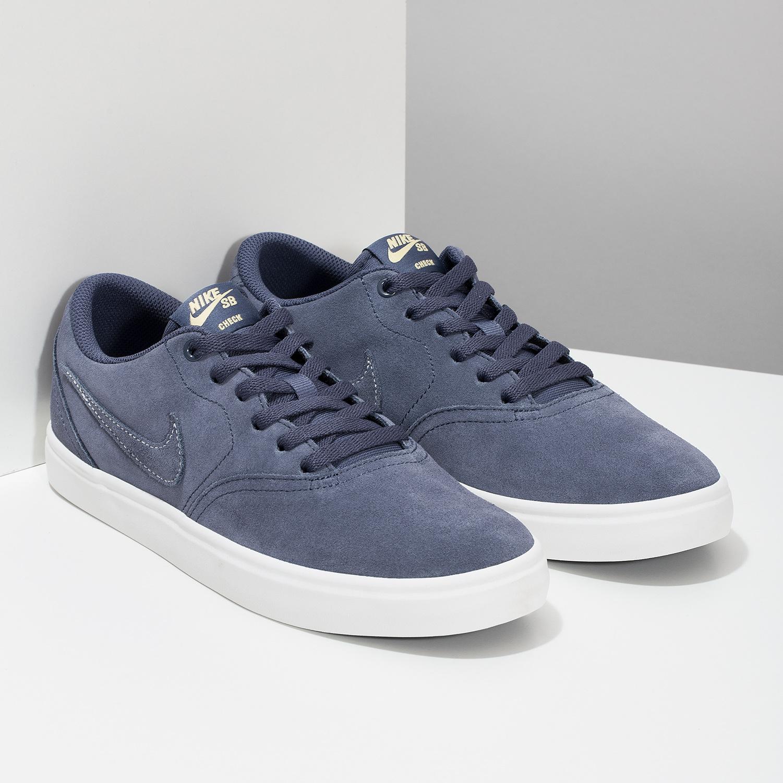 9da0bc864cc Nike Pánske modré kožené tenisky - Tenisky