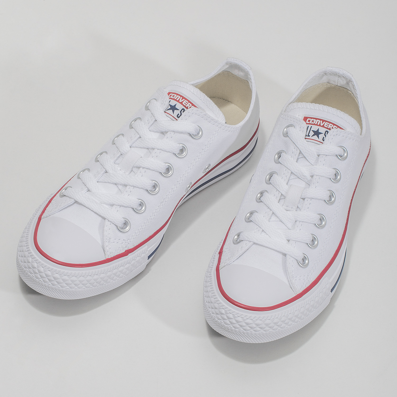 df537df3ce0f Converse Dámske biele tenisky s gumovou špičkou - Tenisky
