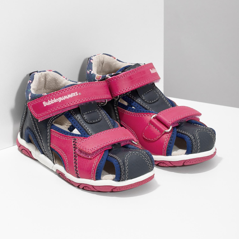 561cdc732 ... Dievčenské sandále na suchý zips bubblegummers, ružová, 161-5604 - 26  ...