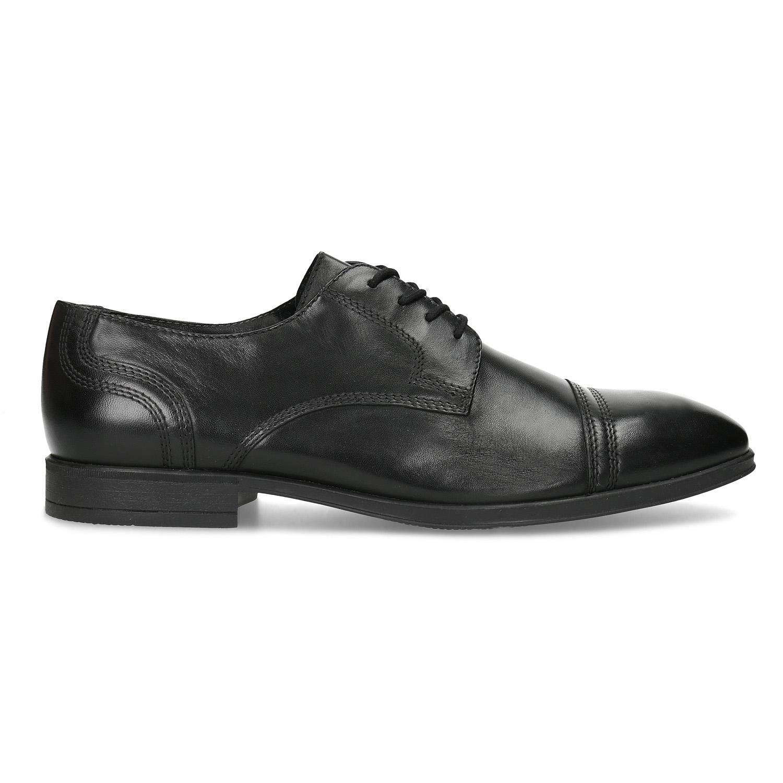 be86a97c8 ... Pánske čierne kožené Derby poltopánky bata, čierna, 824-6891 - 19 ...