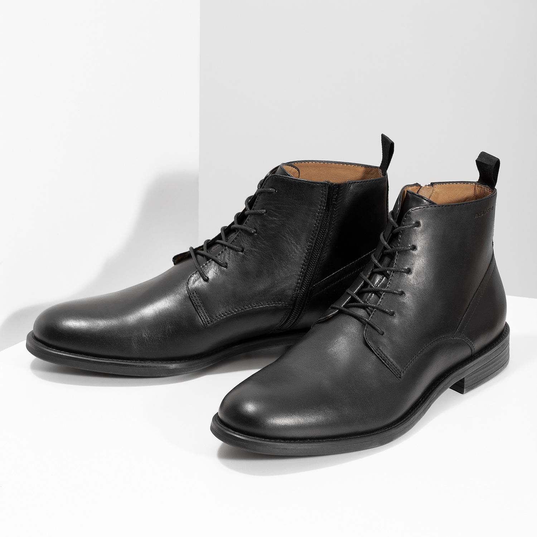 64c85a1002 Vagabond Pánska čierna kožená členková obuv - Všetky topánky