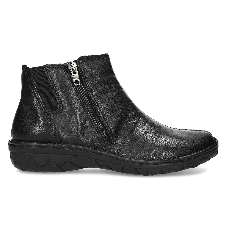 13c38fba2ae82 ... Dámska členková zimná kožená obuv bata, čierna, 594-6708 - 19 ...