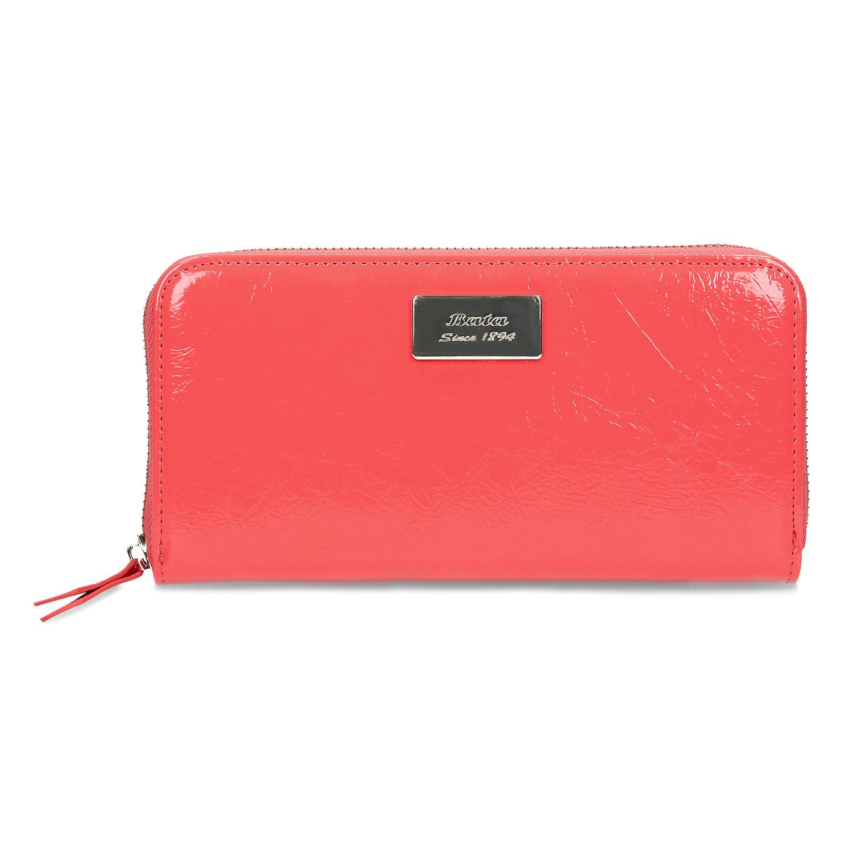 a259c19ef ... Oranžová lakovaná peňaženka bata, oranžová, 941-5323 - 26 ...